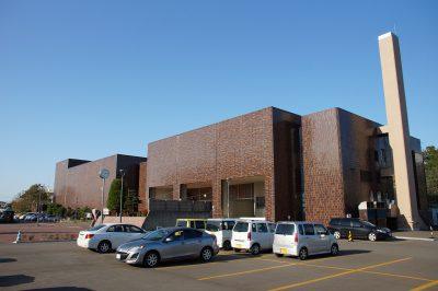 改修工事を控える函館市民会館