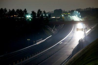 開通した函館新外環状道路。2015年3月撮影